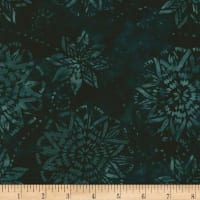 Timeless Treasures Tonga Batik Mini Emerald Dream Spruce