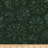Timeless Treasures Tonga Batik Mini Emerald Wintry Mix Hunter
