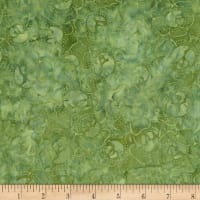 """Timeless Treasures 106"""" Batik Wide Back Cabbage Patch Green"""