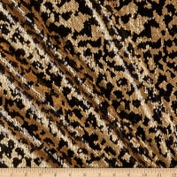 Fancy Leopard Sequin Gold