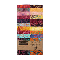 "Timeless Treasures Tonga Batik Treat Dragonfly 2.5"" Strip Pack 20 Pcs Dragonfly"