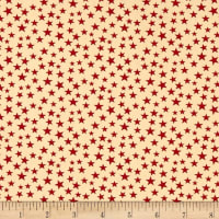 "Patriotic 108"" Quilt Backs Red/Antique"