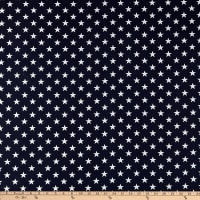 "Patriotic 108"" Quilt Backs Navy/White"