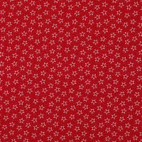 "Patriotic 108"" Quilt Backs Star Dot Red/White/Antique"