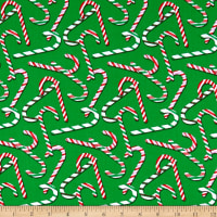 Christmas Candy Cane Green