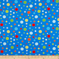 Henry Glass Celebrate Summer Various Sized Dots Royal