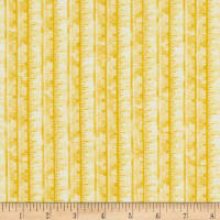 Henry Glass Handmade With Love Tape Measure Allover Yellow