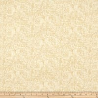 Henry Glass Butter Churn Basics Small Paisley Beige
