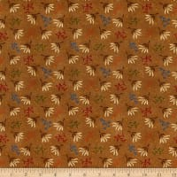 "Henry Glass Spiced 108"" Quilt Back Seaweed Brown"