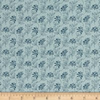 Andover Bed of Roses Sage Teal