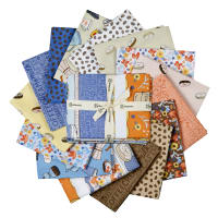 Clothworks Coffee Lover Fat Quarter Pack 15 Pcs.