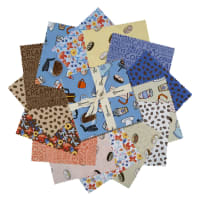 "Clothworks Coffee Lover 5"" Squares 42 Pcs."