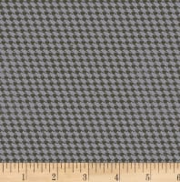 Clothworks Everlasting Rose Plaid Gray
