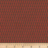 Clothworks Everlasting Rose Plaid Red