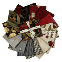 Clothworks Everlasting Rose Fat Quarter Pack 15 Pcs.