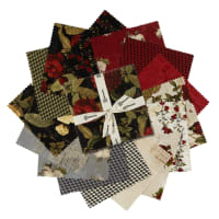 "Clothworks Everlasting Rose 5"" Squares 42 Pcs."