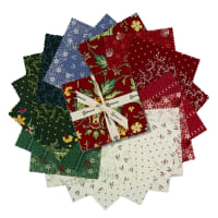 "Clothworks Wintertide 5"" Squares 42 Pcs"