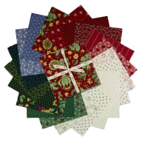 "Clothworks Wintertide 10"" Squares 42 Pcs"