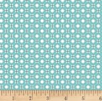 Clothworks Stitch Cats Plaid Light Teal