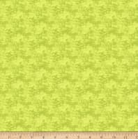 Clothworks Misty Meadow Tonal Lime