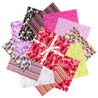 "Clothworks Misty Meadow 10"" Squares 42 Pcs"