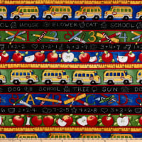 Susan Winget School is Cool School Bus Eco Canvas Multi