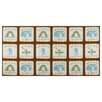 Susan Winget Lakehouse Living Lake Living Recreation Eco Canvas Cream