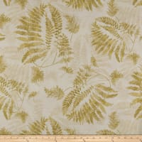 Susan Winget Lakehouse Living Lake Living Ferns Eco Canvas Beige