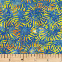 Hoffman Bali Batik Sunflower Sunflower