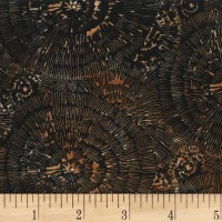 Hoffman Bali Batik Bark Texture Antique Black