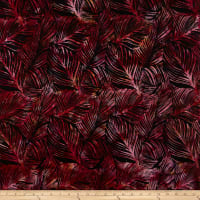 Hoffman Bali Batik Large Leaf Blackberry