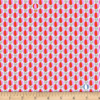 Stof Fabrics Denmark Count On Me Dots Red