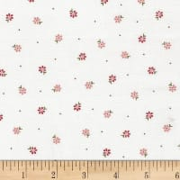 Stof Fabrics Denmark Remake Floral Prints Cream/Rose