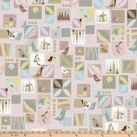 Stof Fabrics Denmark Urban Nature Birds Paste