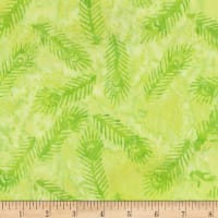 Anthology Batiks Fairytale Glitz Feather Green