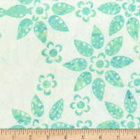 Anthology Batiks Legend Flow & Floral Mint