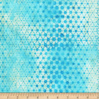 Anthology Batiks Specialty Pop Dots Ocean