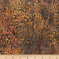 Anthology Batiks Novelty Safari Cheetah Sahara