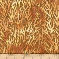 Anthology Batiks Novelty Safari Branches Sienna