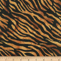 Anthology Batiks Novelty Safari Zebra Cashew