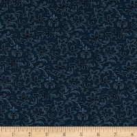 Mrs. Miller's Apprentice Bess' Dress Print Navy