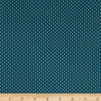 Mrs. Miller's Apprentice Quilting Bee Print Blue