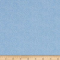 Prettiful Posies Leila Print Light Blue