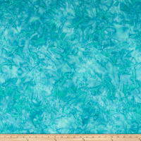 Sew Sweet Batiks Watercolor Teture Aqua