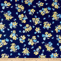 Andover Only You Tossed Floral Blue