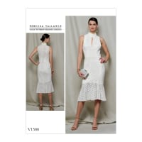 Vogue V1588 Rebecca Vallance Misses Lace Dress E5 (Sizes 14-22)