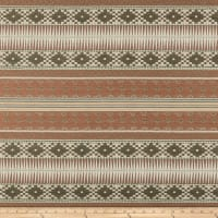 Home Accent Aztec Inspired Jacquard Earth
