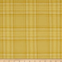 Tape Measure Brushed Flanel Yarn Dye Tonal Plaid Gold