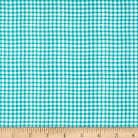 Stoffabric Denmark Down Town Kitty Check Turquoise