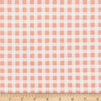 Liverpool Double Knit Gingham Rose